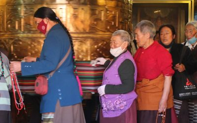 El peregrinaje en Lhasa