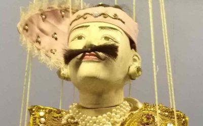 teatro de marionetas birmano