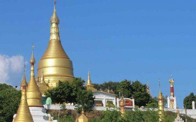 Sagaing, montaña sagrada junto a Mandalay