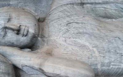 La llegada de Buda a Sri Lanka