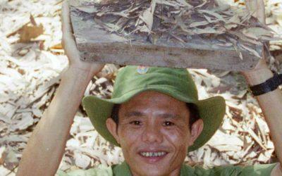 Los túneles de Cu Chi en Saigón