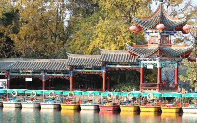 El parque Cuihu de Kunming