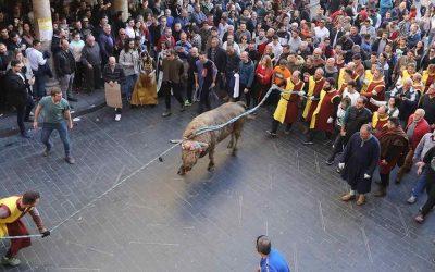 El toro ensogado de Teruel
