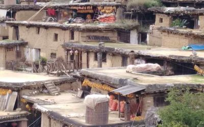 La aldea Chengzi de los Yi Blancos