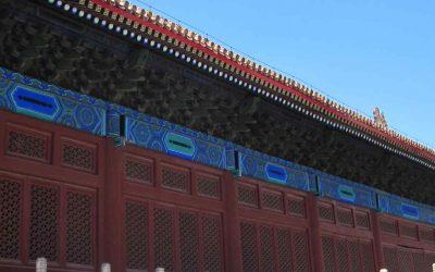 El Templo de los Ancestros Imperiales en Beijing