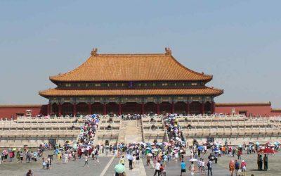 Los grandes salones de la Ciudad Prohibida de Beijing