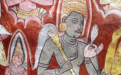 Iconografía de las dos primeras cuevas de Dambulla