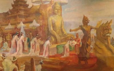 El Templo Mahamuni de Mandalay