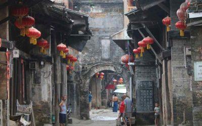 El tiempo detenido en la aldea de Daxu en Guilin