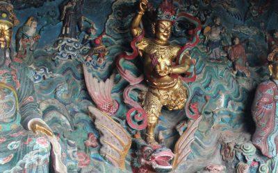 Los templos excavados en la roca de las Montañas del Oeste de Kunming