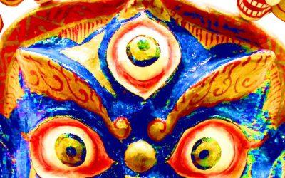 Máscaras del Museo de las Nacionalidades de Yunnan