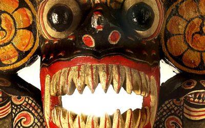 Entendiendo la base de las máscaras cingalesas