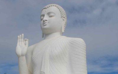 Monumentos cerca de Arunadhapura en Sri Lanka