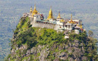 Monte Popa y sus templos a los espíritus