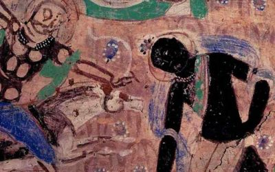 Grutas de Kyzil- arte budista primitivo en la Ruta de la Seda