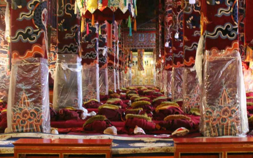 Historia del monasterio de Drepung en Lhasa