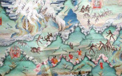Los Tibetanos,  el pueblo que desciende del mono